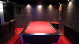 Billard 7ft Anglais tapis rouge